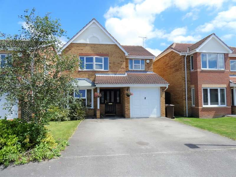 4 Bedrooms Detached House for sale in Melton Way, Barnsley, South Yorkshire, S71