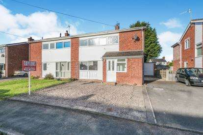 3 Bedrooms Semi Detached House for sale in Tayson Way, Malvern, ., Worcestershire