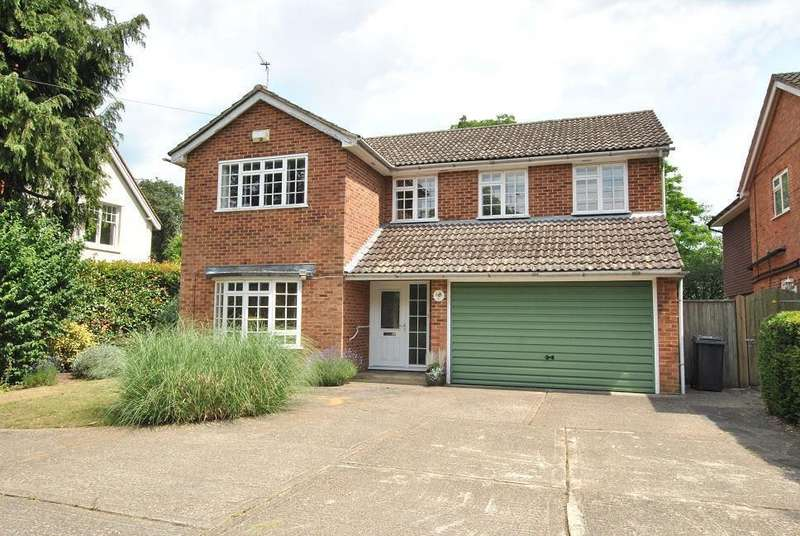 4 Bedrooms Detached House for sale in St Peters Hill, Caversham Heights, Reading