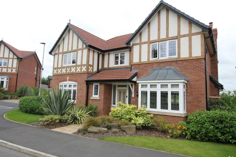 5 Bedrooms Detached House for sale in Livesley Road, Tytherington, Macclesfield, Cheshire, SK10