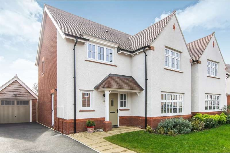 4 Bedrooms Detached House for sale in Lady Margaret Hall Close, Newport