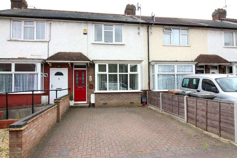 2 Bedrooms Terraced House for sale in Hawthorn Avenue, Luton, Bedfordshire, LU2 8AW