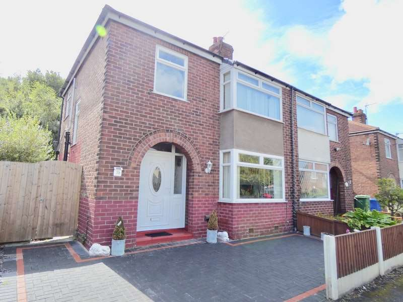 3 Bedrooms Semi Detached House for sale in Dover Road, Warrington, Cheshire, WA4