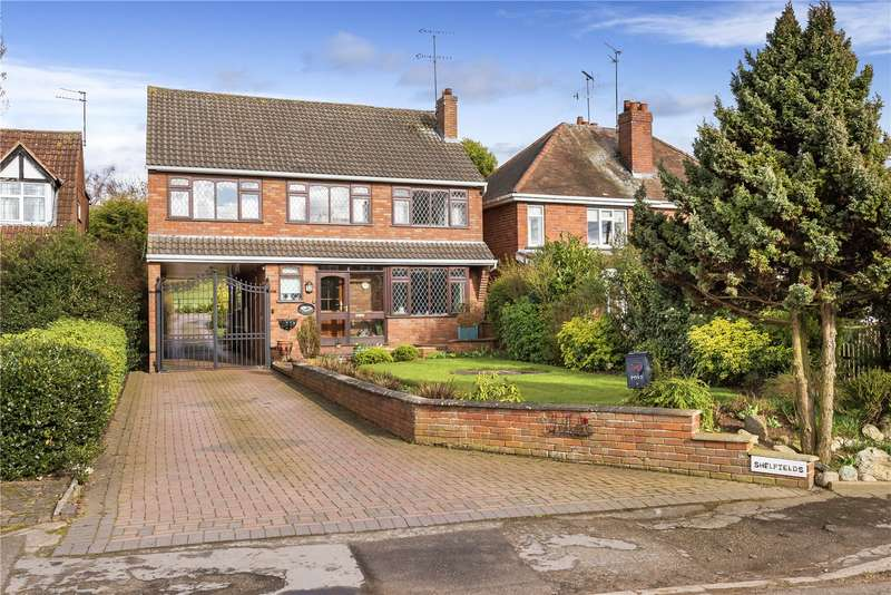 4 Bedrooms Detached House for sale in Shelfields, Penstone Lane, Lower Penn, South Staffs, WV4