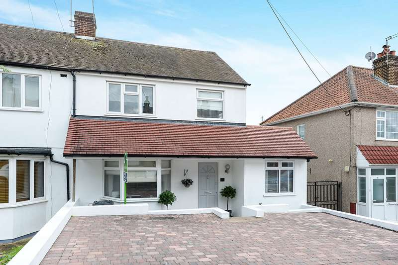 3 Bedrooms Semi Detached House for sale in Plantation Road, Hextable, Swanley, Kent, BR8