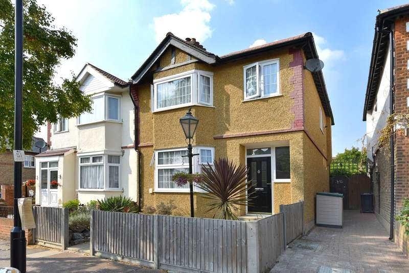 3 Bedrooms Semi Detached House for sale in Shakespeare Road, Hanwell