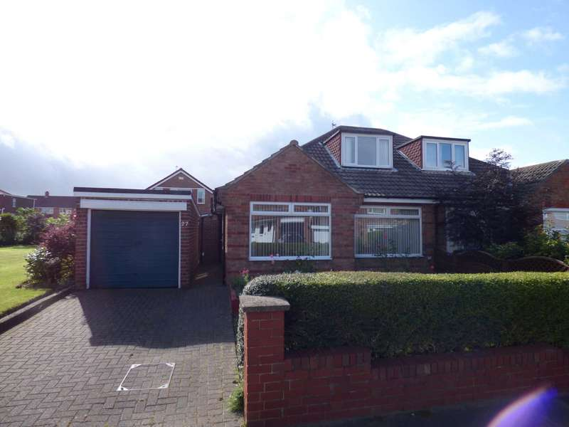 3 Bedrooms Semi Detached Bungalow for sale in Priestcrofts, Marske By The Sea