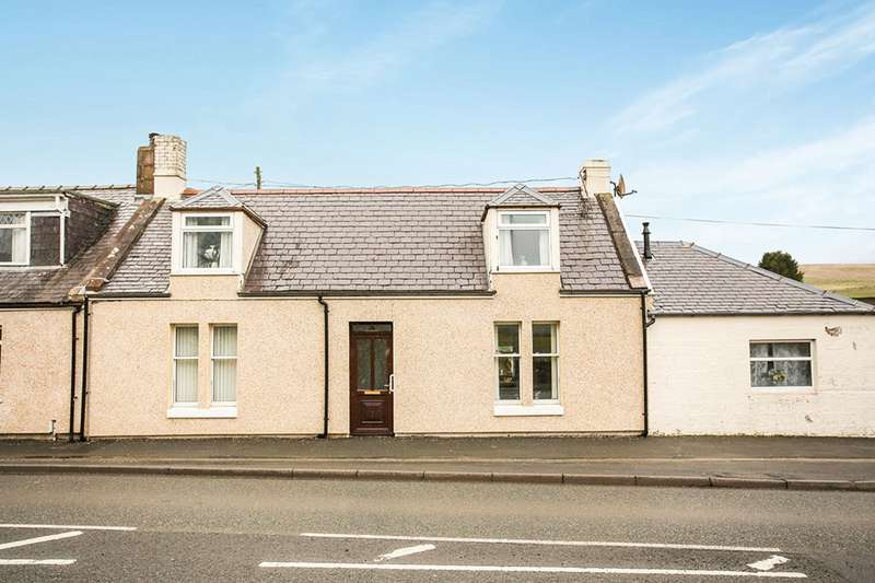 3 Bedrooms End Of Terrace House for sale in Castle Street, Sanquhar, Dumfriesshire, DG4