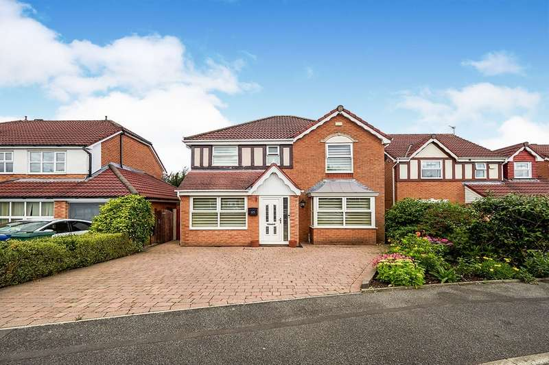4 Bedrooms Detached House for sale in Shetland Way, Radcliffe, Manchester, M26