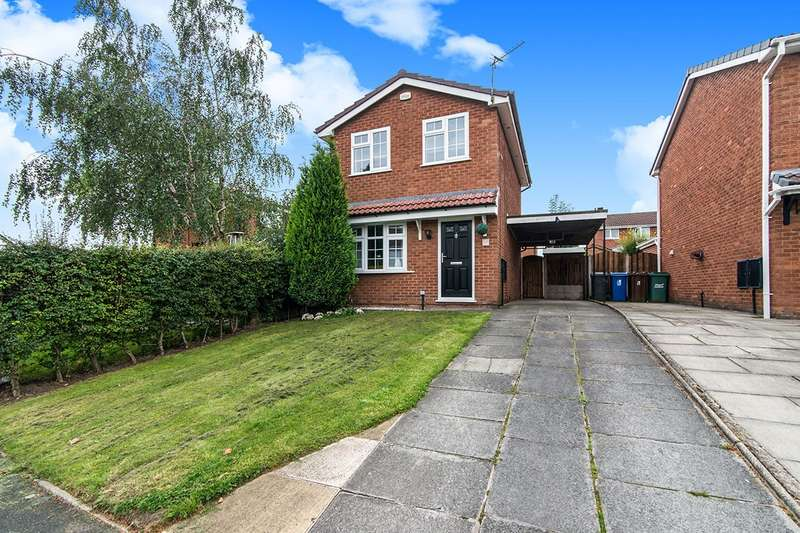 2 Bedrooms Detached House for sale in Cherington Drive, Tyldesley, Manchester, M29