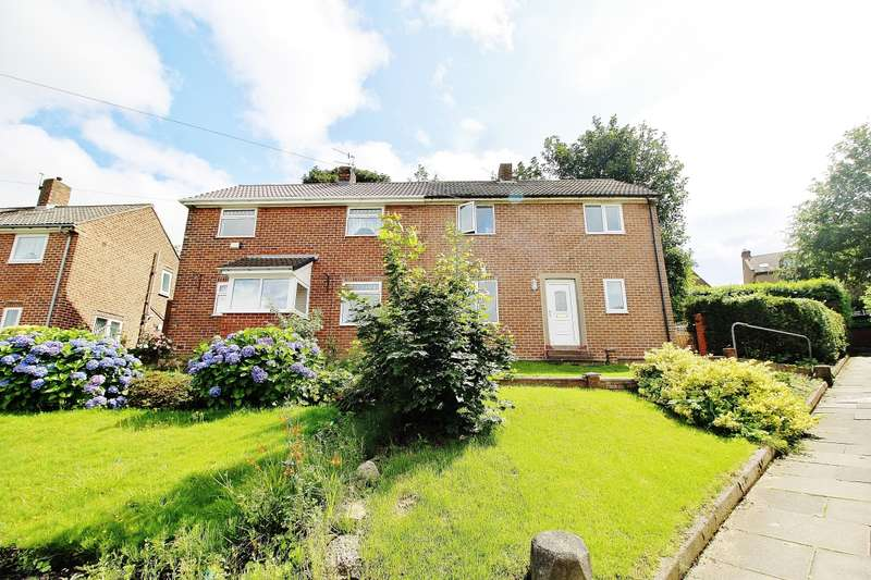 2 Bedrooms Semi Detached House for sale in Blake Avenue, Whickham, Newcastle Upon Tyne, NE16
