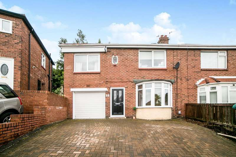 3 Bedrooms Semi Detached House for sale in Valley Drive, Dunston, Gateshead, Tyne And Wear, NE11
