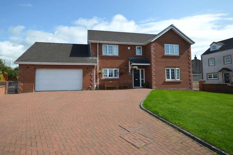 5 Bedrooms Detached House for sale in Allanby Close, Flimby, Maryport, Cumbria, CA15
