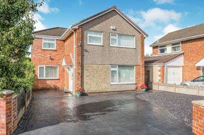 4 Bedrooms Detached House for sale in Blackhurst Road, Lydiate, Liverpool, Merseyside, L31