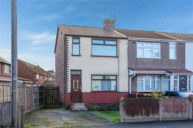 2 Bedrooms End Of Terrace House for sale in Oxford Street, Widnes, Cheshire