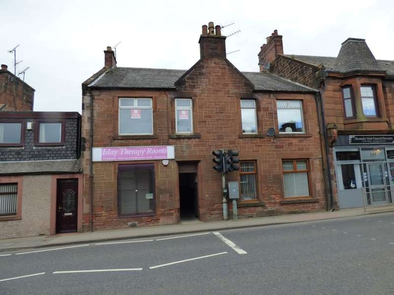 2 Bedrooms Flat for sale in 183A, Main Street, Auchinleck, Cumnock, East Ayrshire