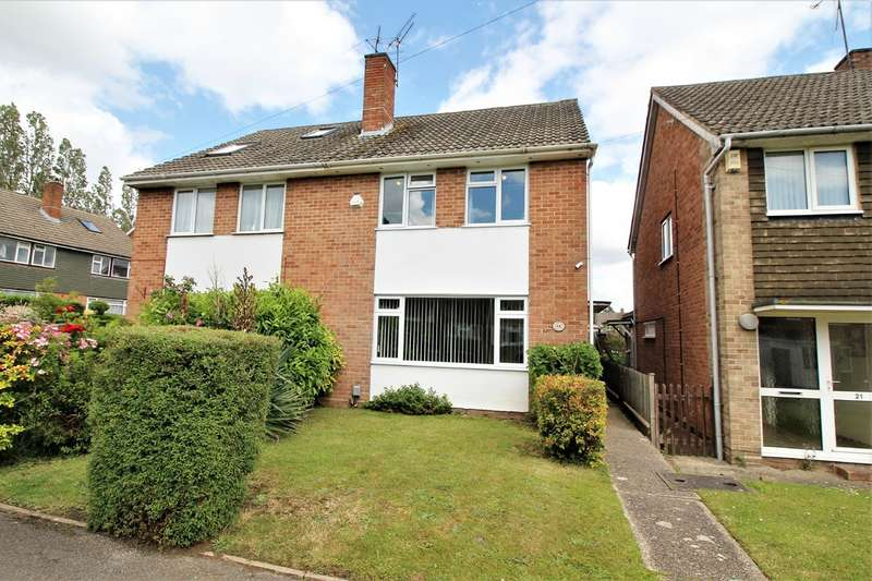 3 Bedrooms Semi Detached House for sale in Greencroft Gardens, Reading, RG30