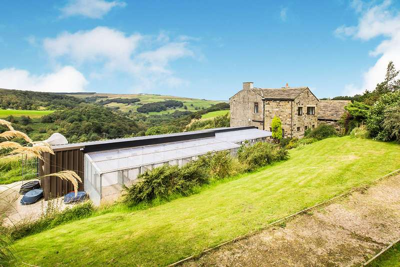 4 Bedrooms Detached House for sale in New Road, Cragg Vale, Hebden Bridge, HX7