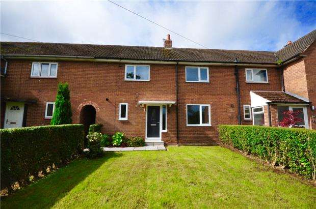 3 Bedrooms Terraced House for sale in Long Looms, Great Barrow, Chester
