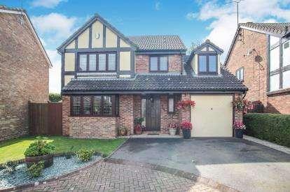 4 Bedrooms Detached House for sale in Prebendal Drive, Slip End, Luton, Bedfordshire