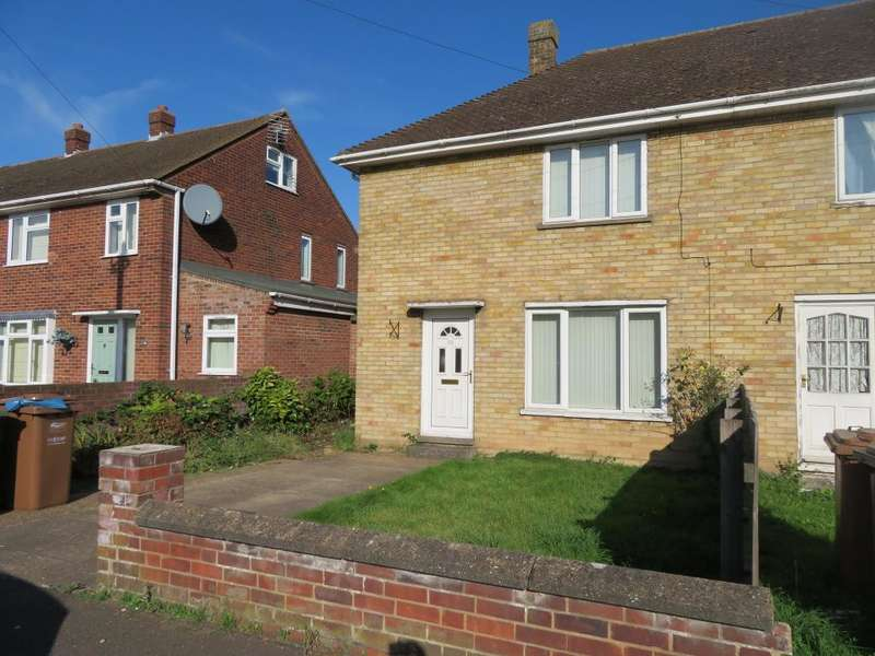 2 Bedrooms Semi Detached House for sale in Claremont Road, Wisbech, Cambs, PE13 2JR
