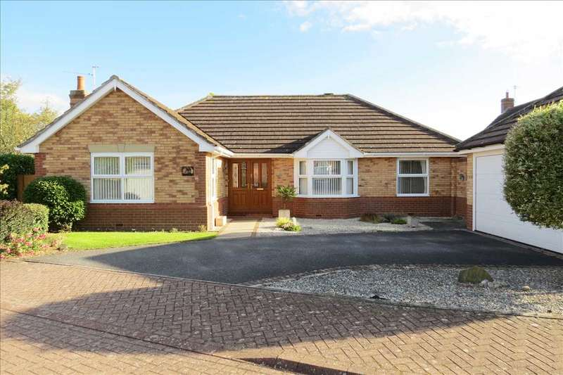 3 Bedrooms Detached Bungalow for sale in Kipling Drive, Sleaford