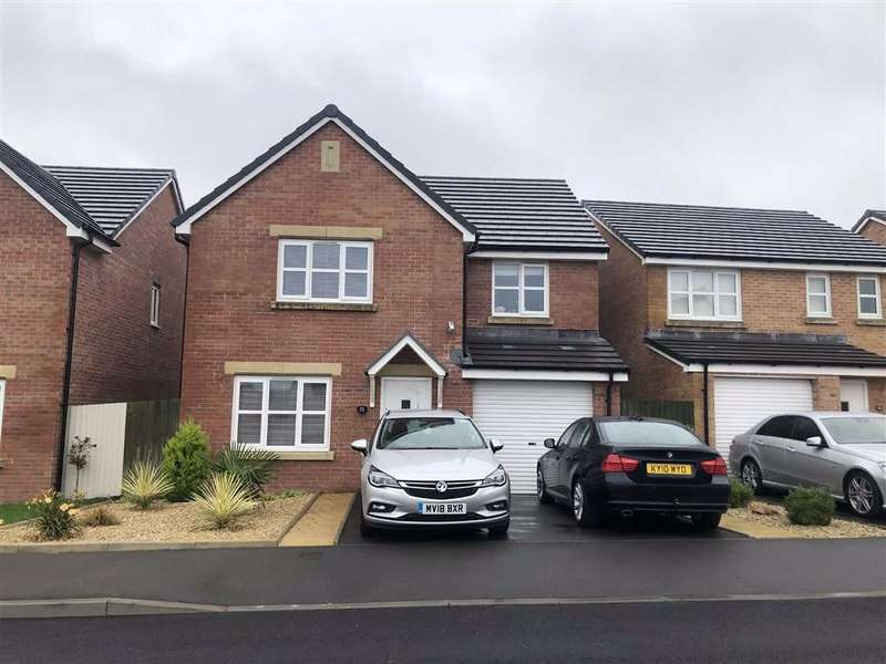 4 Bedrooms Detached House for sale in Erwau'r Garn, Carway, Kidwelly