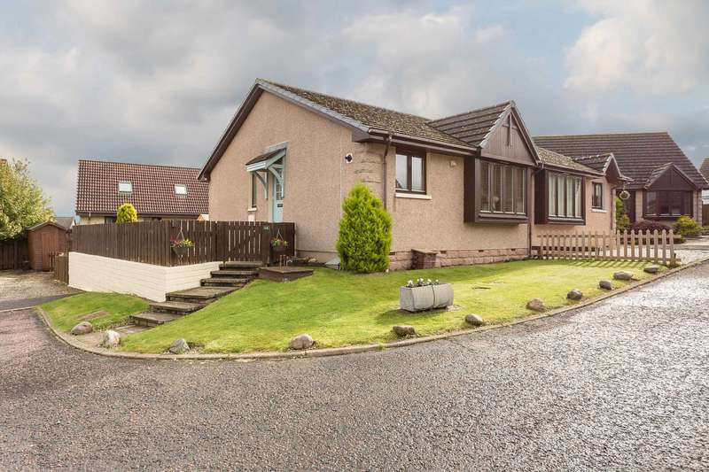 2 Bedrooms Semi Detached Bungalow for sale in Bractullo Gardens, Letham, Angus, DD8 2XG