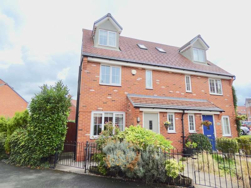 4 Bedrooms Semi Detached House for sale in Pinfold Road, Ormskirk, Lancashire, L39