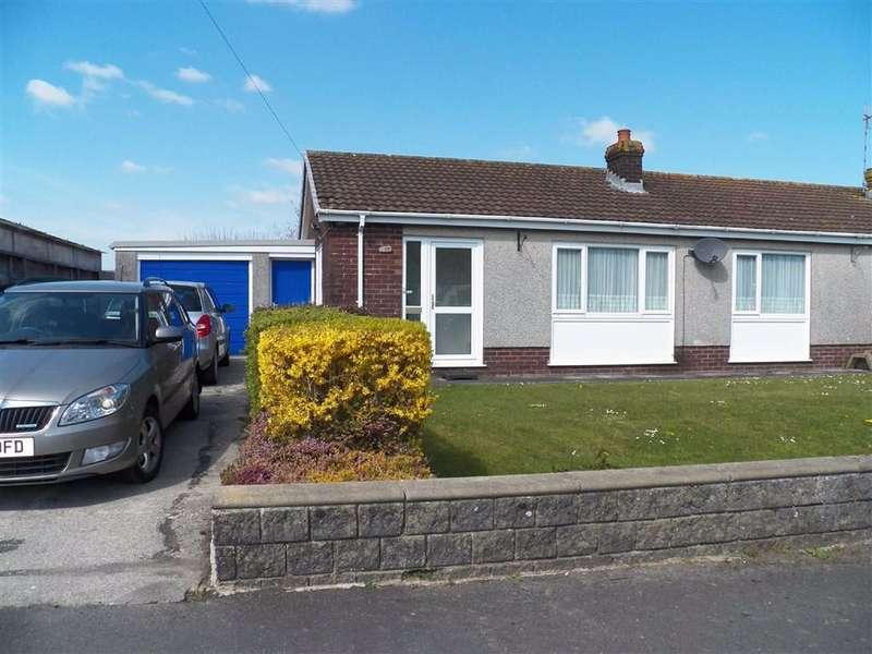 2 Bedrooms Semi Detached Bungalow for sale in Glan Morfa, Ferryside