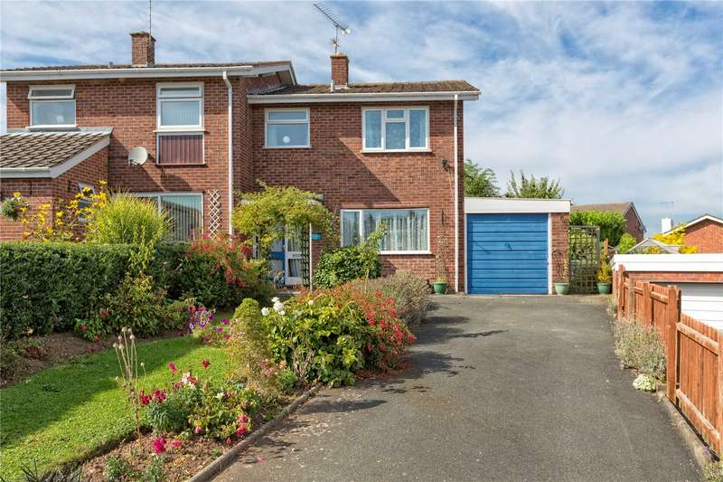 3 Bedrooms Semi Detached House for sale in 61 New Street, Ludlow, Shropshire, SY8