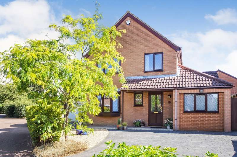 4 Bedrooms Detached House for sale in Lidstone Close, Lower Earley, Reading, RG6
