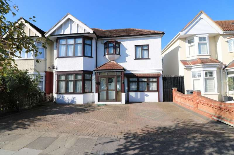 4 Bedrooms Semi Detached House for sale in The Drive, Ilford, IG1