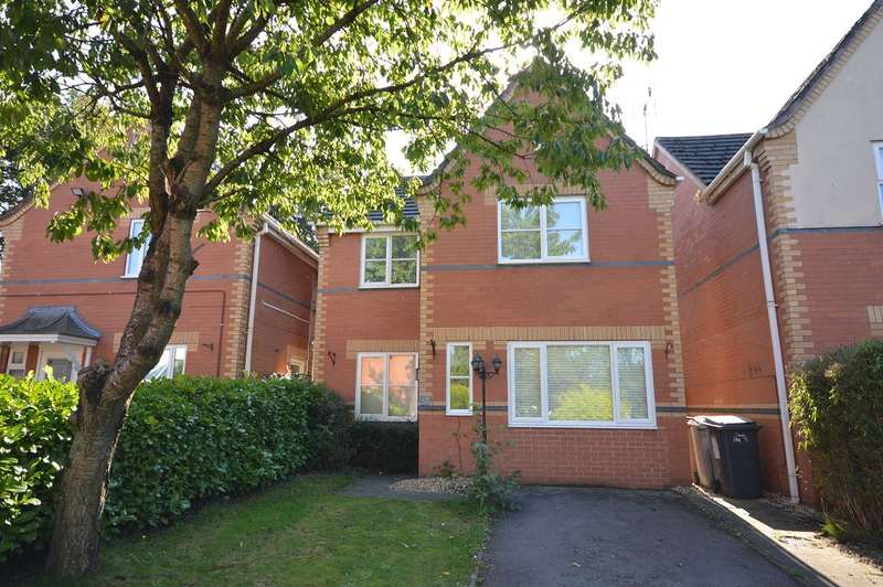 3 Bedrooms Detached House for sale in Scott Close, Sandbach, Cheshire, CW11 3GX