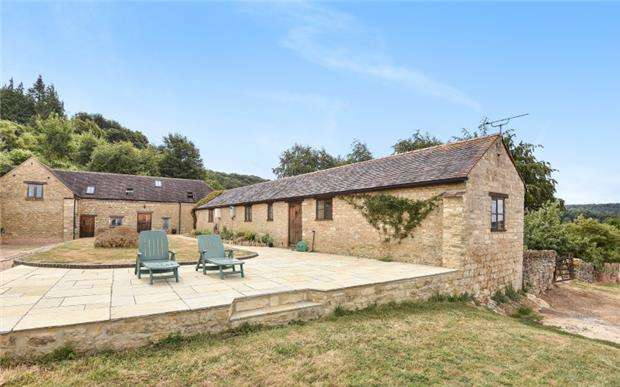 4 Bedrooms Detached House for sale in Birdlip Hill, Witcombe, GLOUCESTER, GL3 4SL