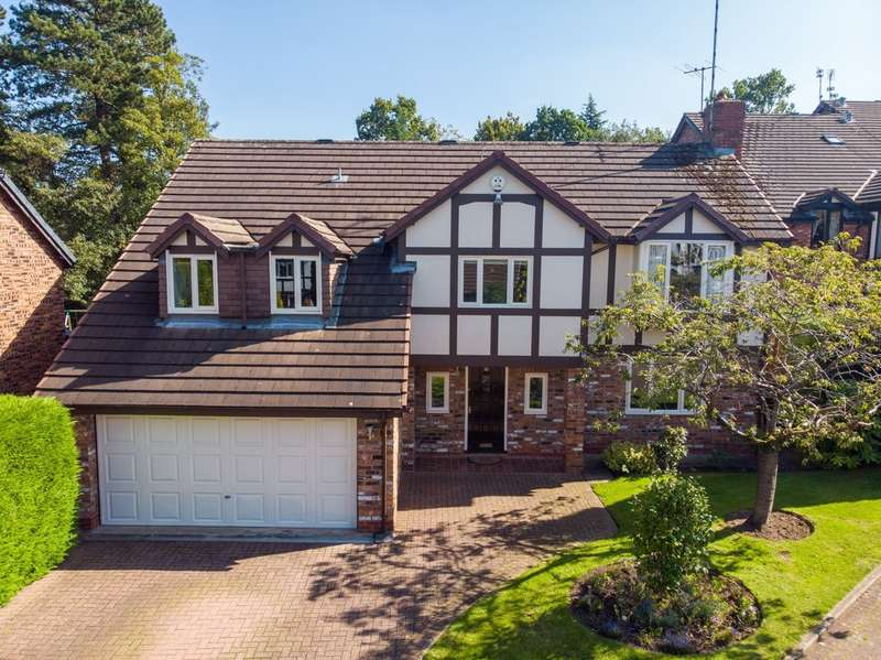 4 Bedrooms Detached House for sale in Tumblewood Drive, Cheadle