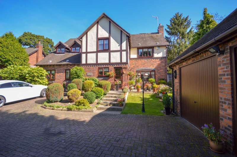 5 Bedrooms Detached House for sale in LODGE FARM CLOSE in Bramhall