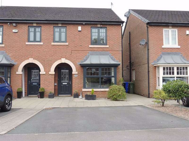 3 Bedrooms Semi Detached House for sale in Lakes View, Stalybridge