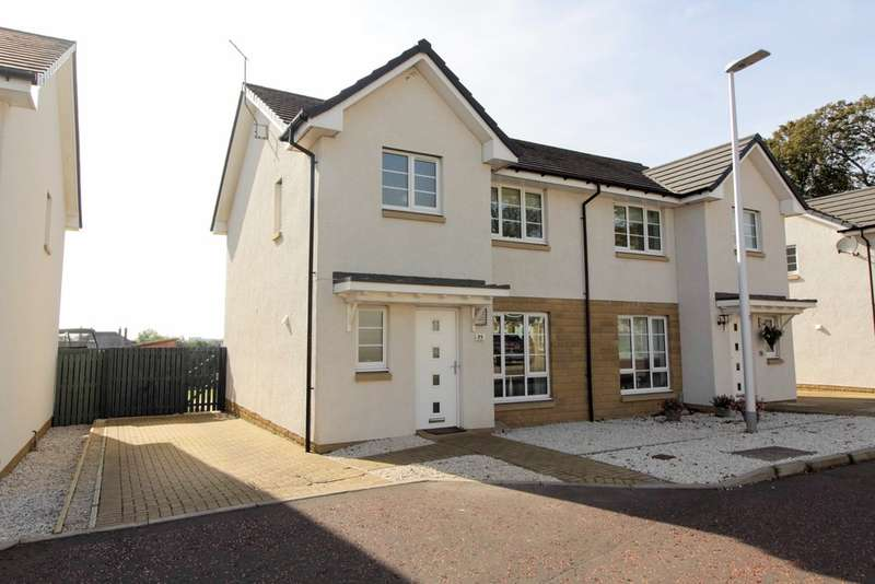 3 Bedrooms Semi Detached House for sale in Manse Gardens, Prestwick, KA9