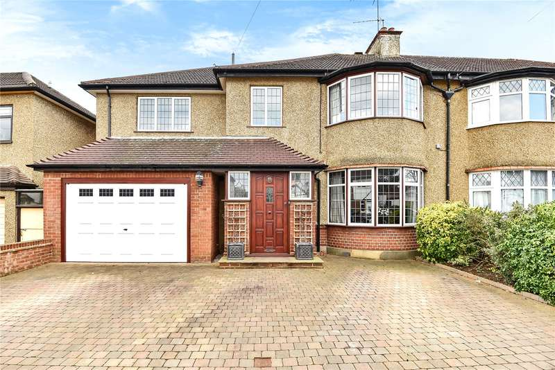 4 Bedrooms Semi Detached House for sale in Manor Way, Harrow, Middlesex, HA2