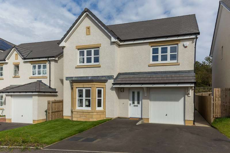 4 Bedrooms Detached House for sale in Brock View, Currie, Edinburgh, EH14