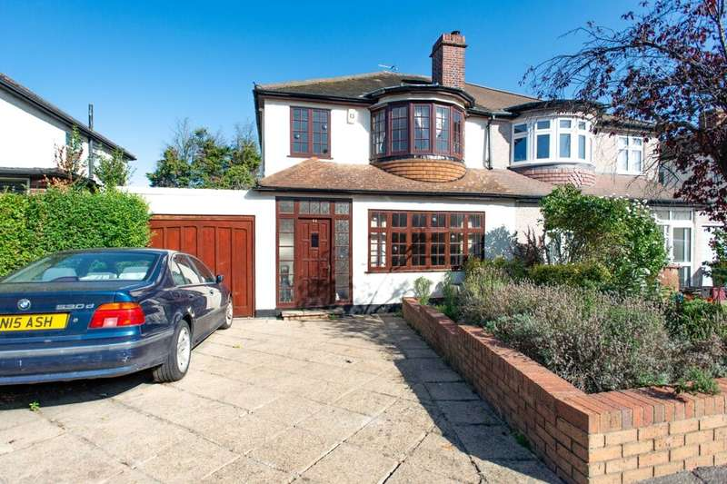 3 Bedrooms Semi Detached House for sale in Faraday Avenue, Sidcup, DA14