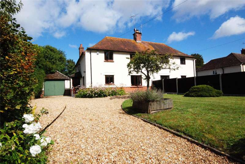 4 Bedrooms Semi Detached House for sale in St. Georges Cottages, Martin, Fordingbridge, Hampshire, SP6