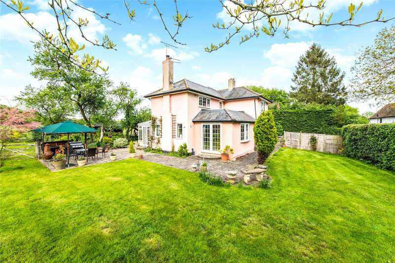 4 Bedrooms Detached House for sale in Coopers Green Lane, St. Albans, Hertfordshire, AL4