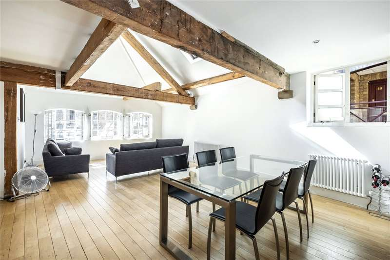 2 Bedrooms Flat for sale in Lloyds Wharf, Mill Street, London, SE1