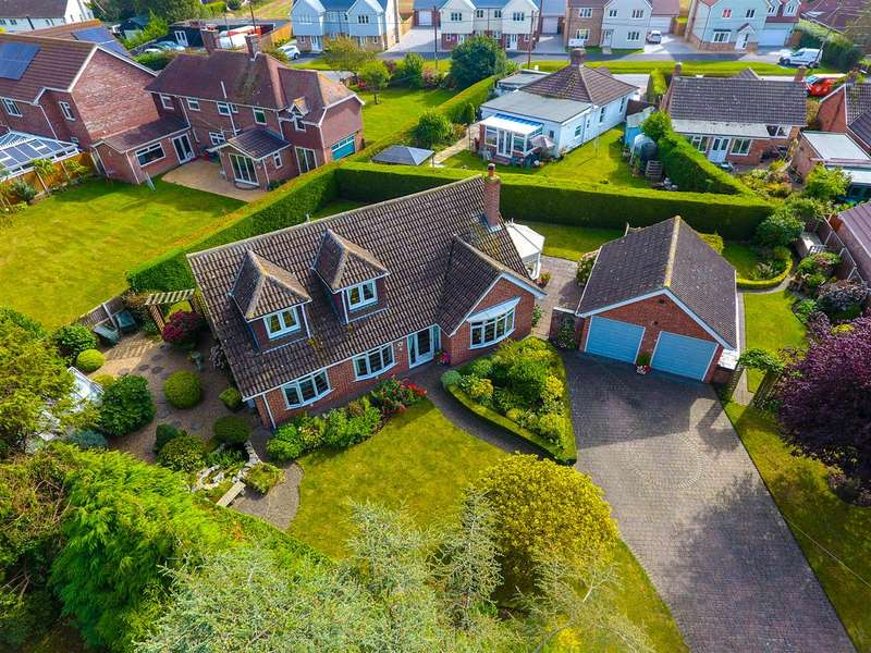 4 Bedrooms Detached House for sale in Fields Close, Weeley Heath