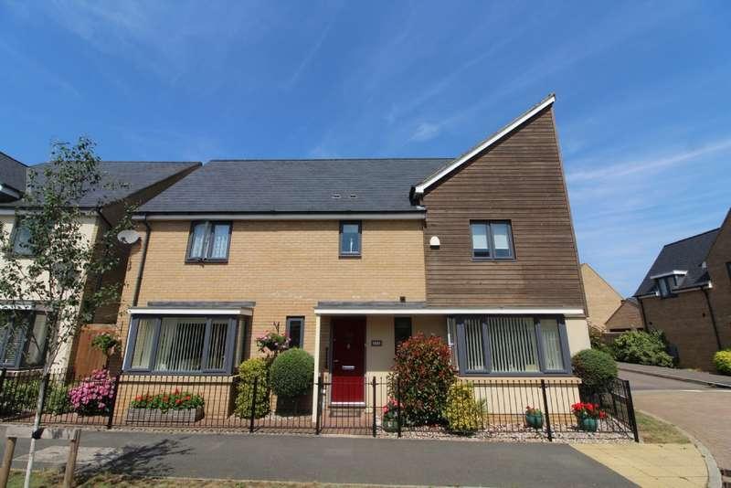 4 Bedrooms Detached House for sale in Selkirk Drive, Oakridge Park, Milton Keynes, Buckinghamshire