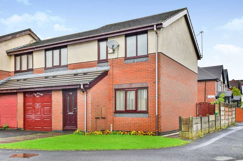3 Bedrooms Semi Detached House for sale in Longford Place, Victoria Park, Levenshulme, Manchester, M14