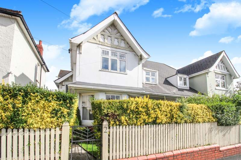 4 Bedrooms Semi Detached House for sale in Lodge Road, Caerleon, Newport, NP18