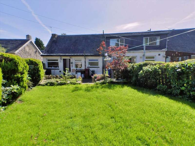 2 Bedrooms End Of Terrace House for sale in Millar Street, Glassford, STRATHAVEN